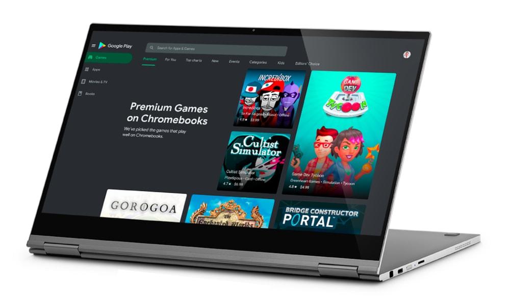 Giocare da Chromebook sta per diventare decisamente più interessante