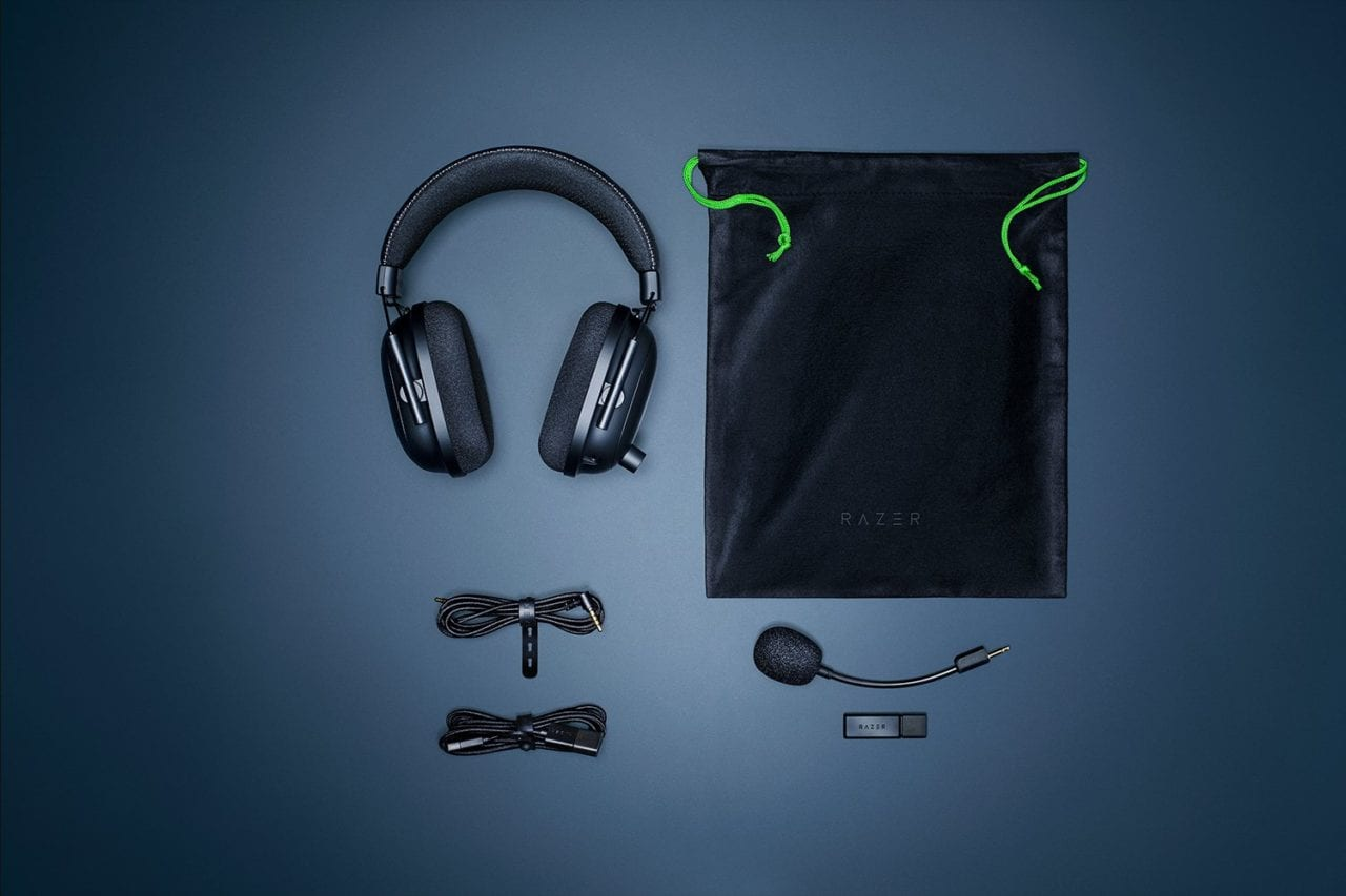 Razer rinnova la sua ammiraglia wireless: nuove cuffie BlackShark V2 Pro insieme al set mouse e tastiera wireless (foto)