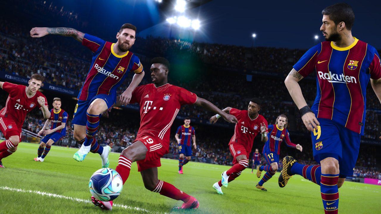 eFootball PES 2021 SEASON UPDATE disponibile per PC e Console a 29,99€