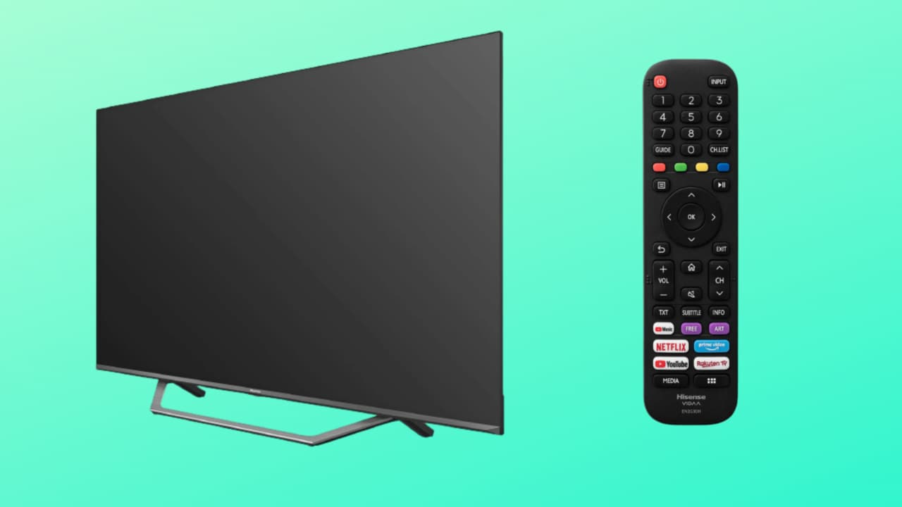 """Smart TV Hisense 43"""" in offerta su Amazon: pannello 4K HDR imperdibile a 349€"""