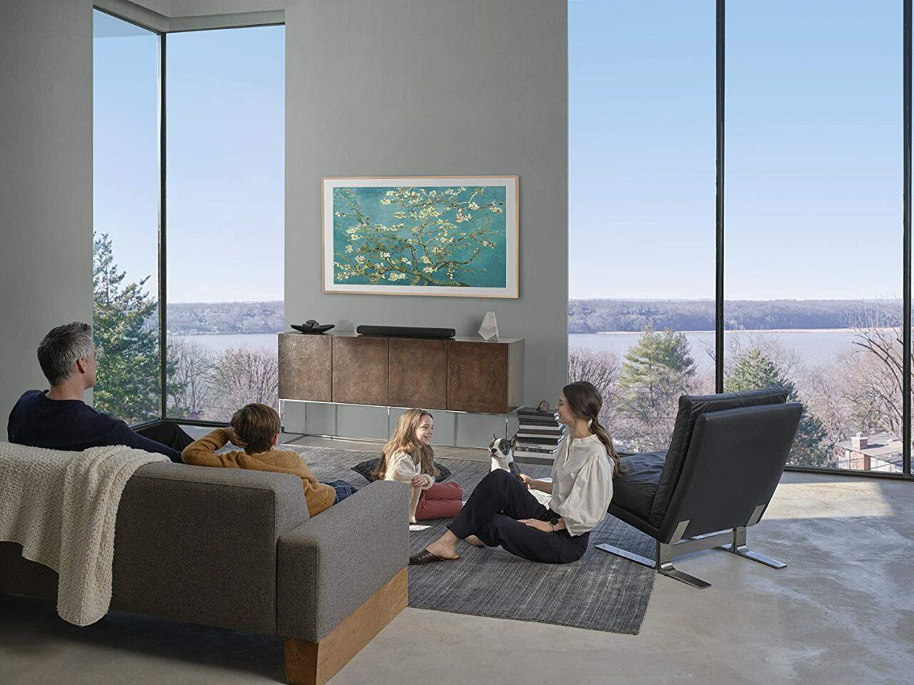 Smart TV Samsung The Frame 2020 in OFFERTA Amazon: belli come un quadro!