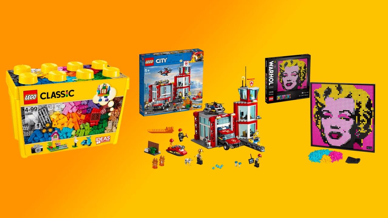 Prime Day 2020: otto idee regalo LEGO scontate