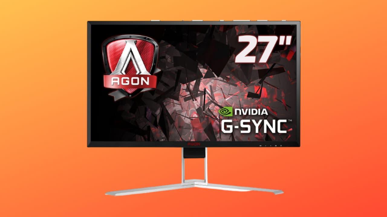 """Monitor Gaming AOC AGON da 27"""" in SCONTO a 536€: supporta 165 Hz e G-Sync"""
