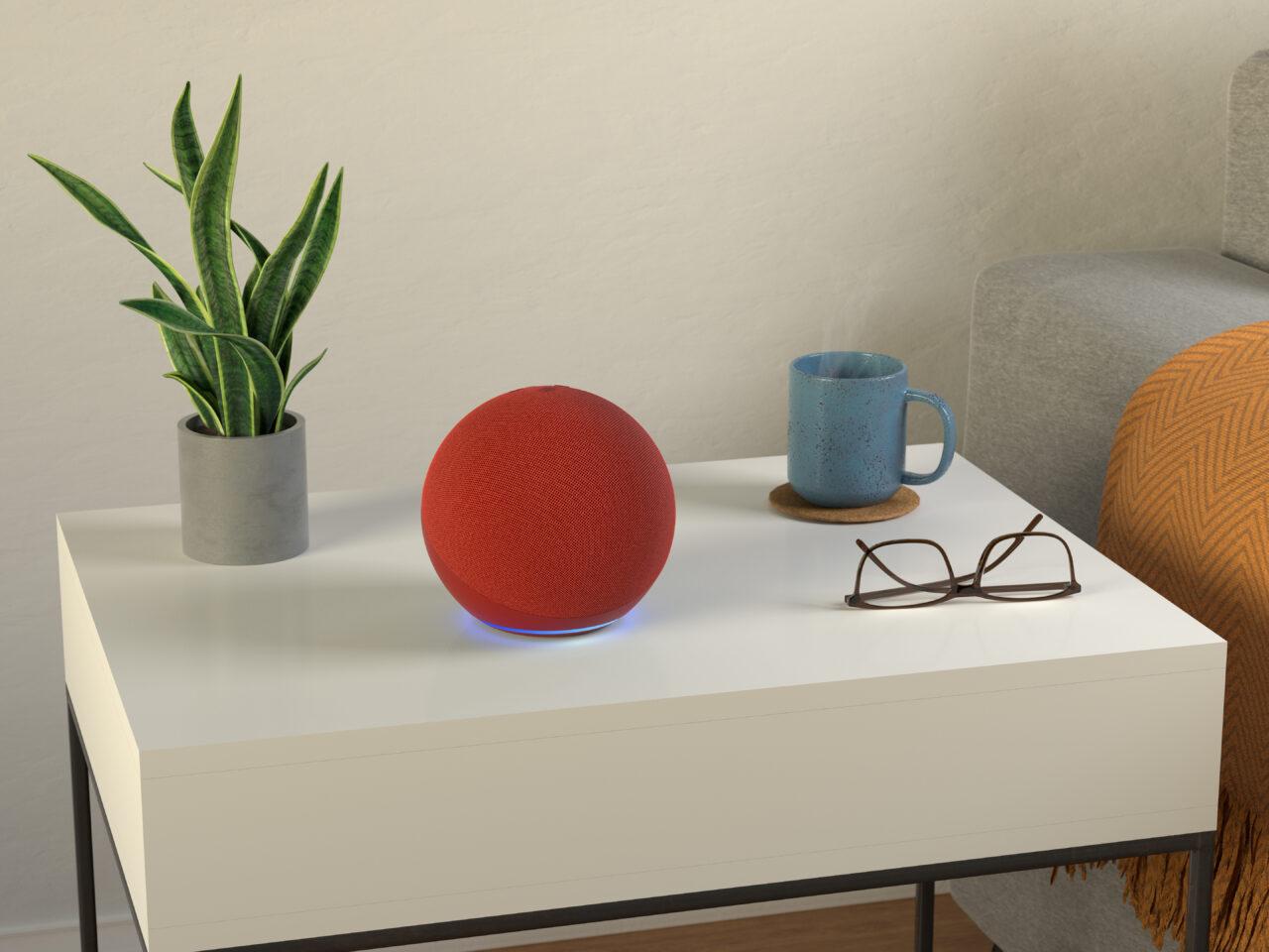 Amazon (echo)RED: il dispositivo a edizione limitata nato dalla collaborazione con (RED) (foto)