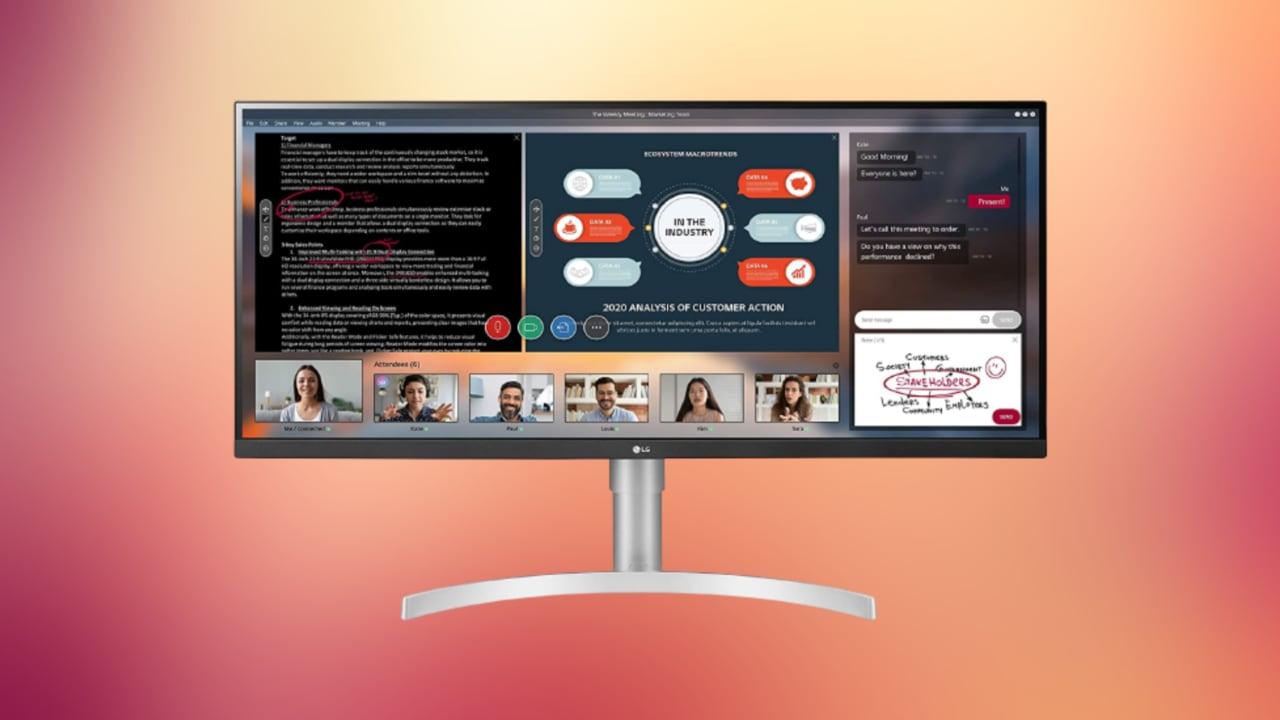"""Che bomba questo LG Monitor UltraWide da 34""""! In super sconto a meno di 270€"""