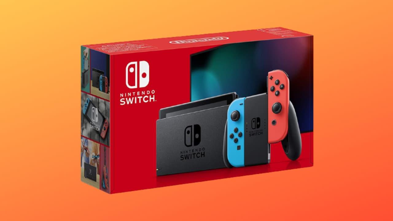 Nintendo Switch in offerta su Amazon: l'edizione più recente a 299€