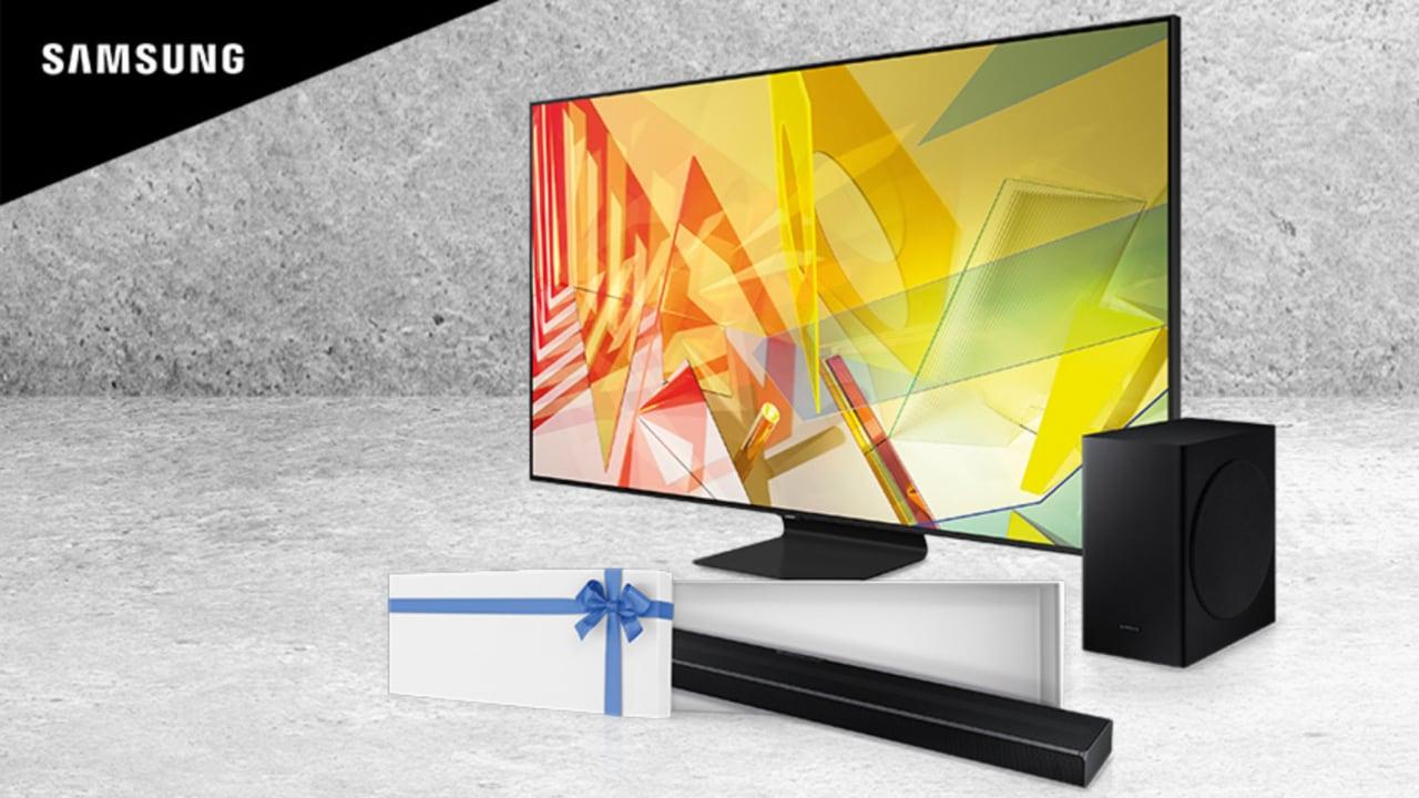 Promozione Samsung: soundbar in omaggio per chi acquista un TV QLED 2020