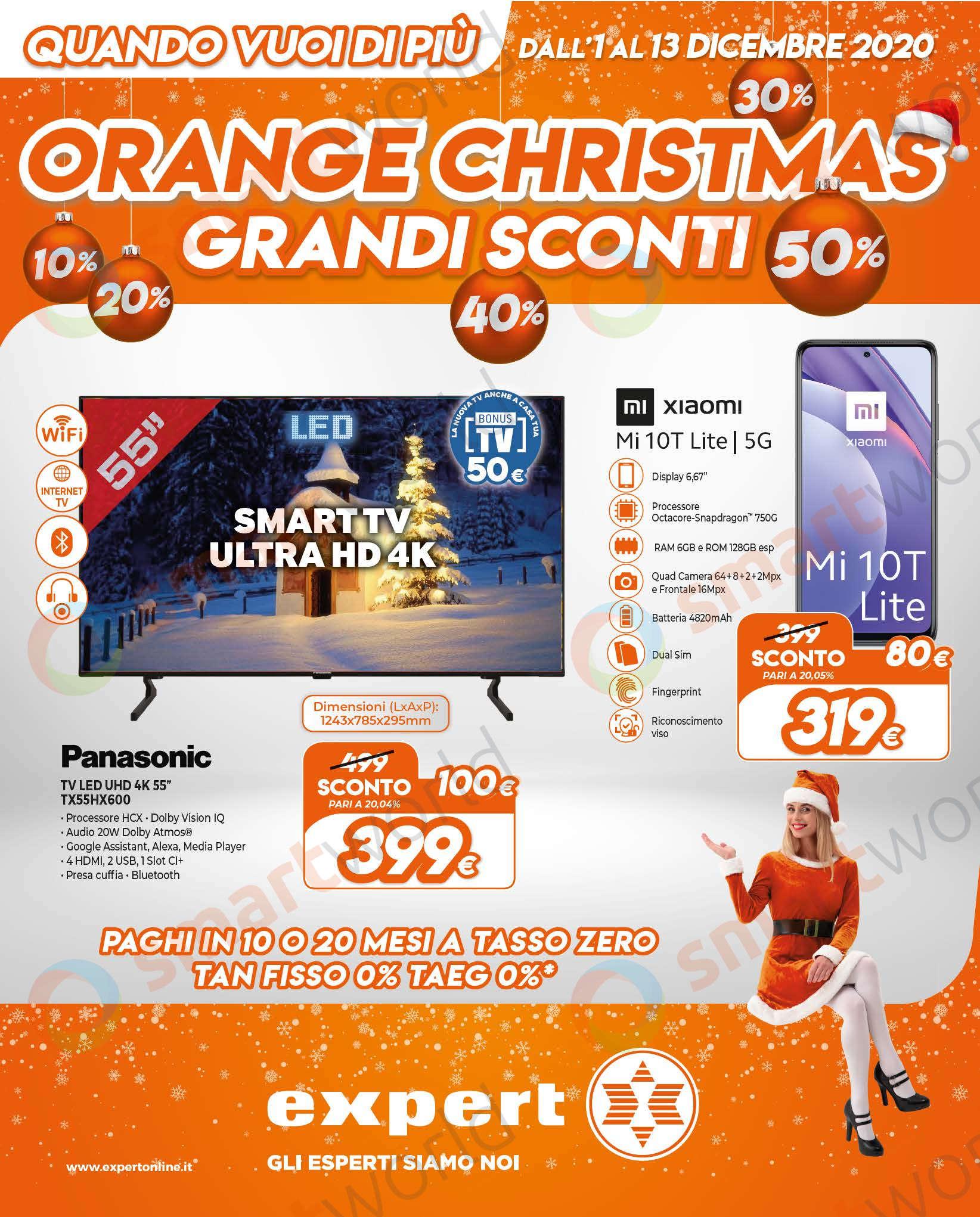 Volantino Expert Orange Christmas 1-13 dicembre 2020 (1)