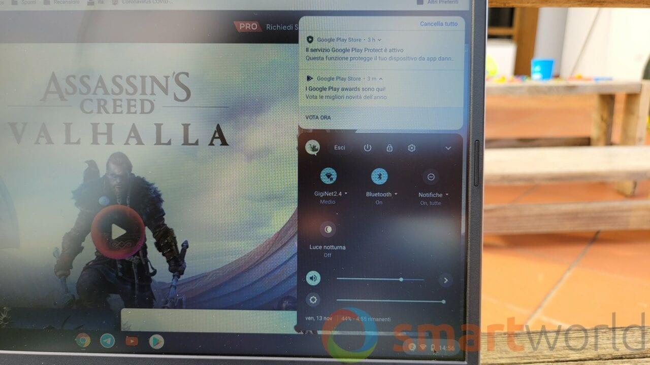 Arriva Chrome OS 88 e il vostro Chromebook può trasformarsi in uno smart display (foto)