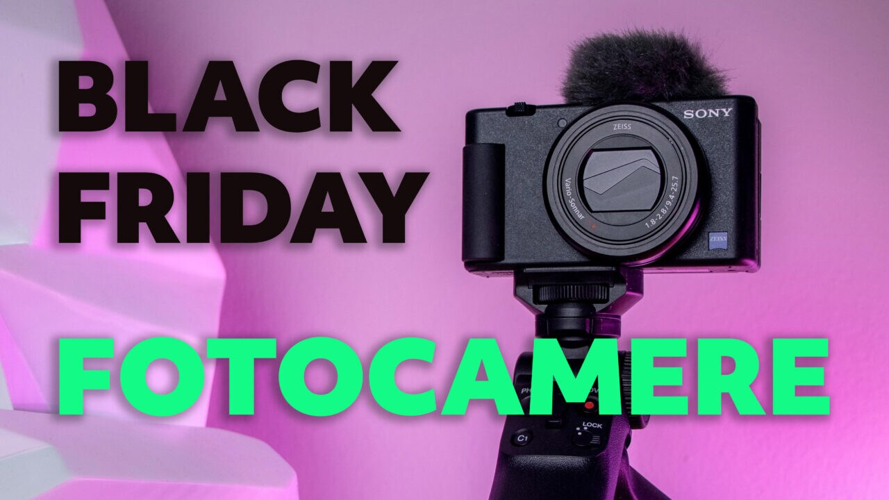 Migliori offerte Cyber Monday per Fotocamere: Sony, Fujifilm, Nikon, Panasonic, Manfrotto (aggiornato)