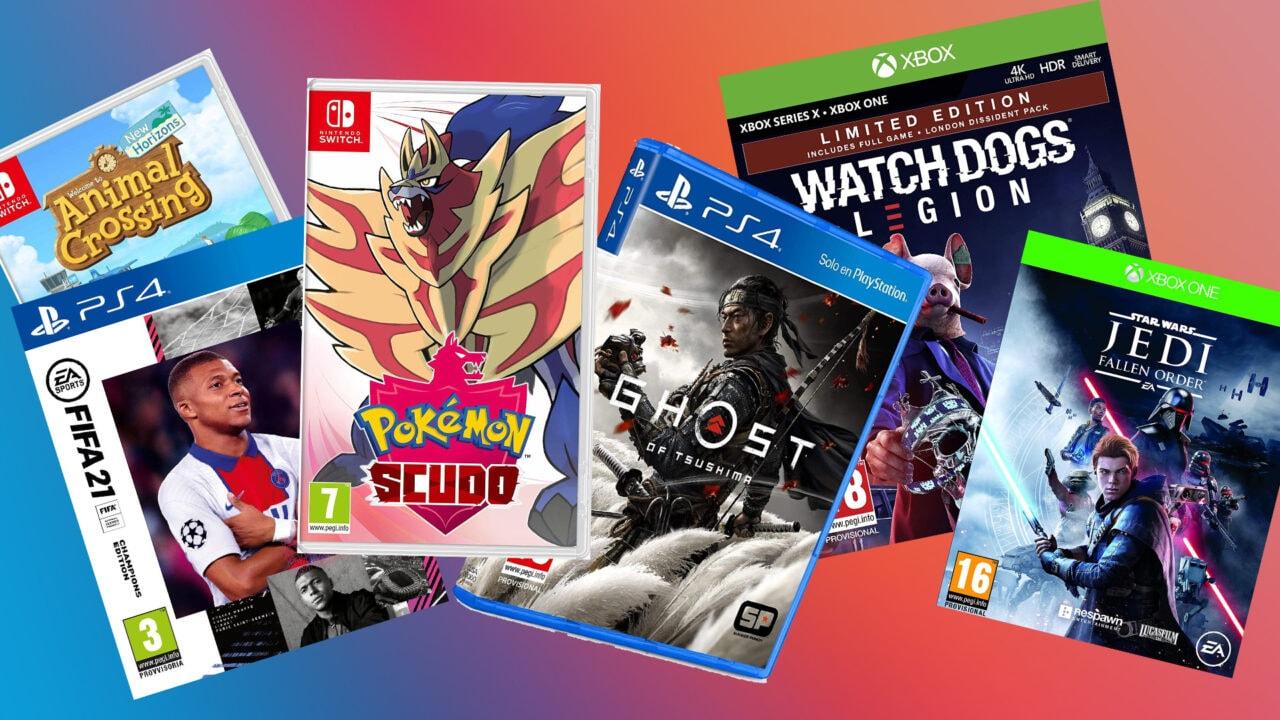 Migliori offerte Cyber Monday per i Videogiochi PS4, PS5, Xbox One, Series X|S, Switch e PC