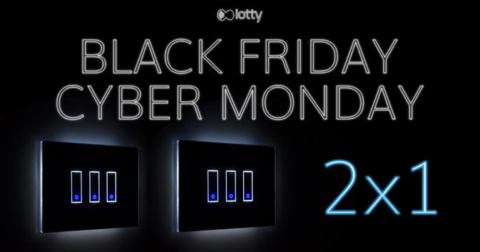 Il Black Friday di iotty: dal 24 novembre prendi due prodotti ma ne paghi solo 1!