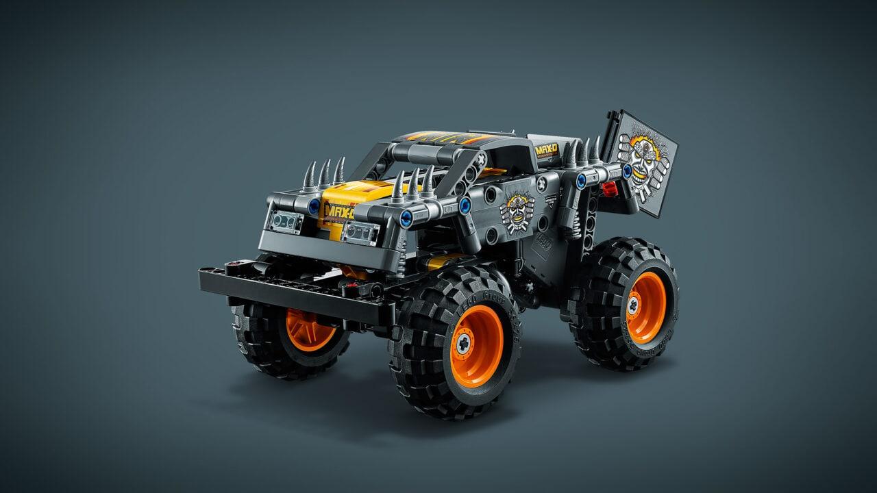 LEGO presenta i nuovi set Technic Monster Jam con meccanismo pull-back a 19,99€ (foto)