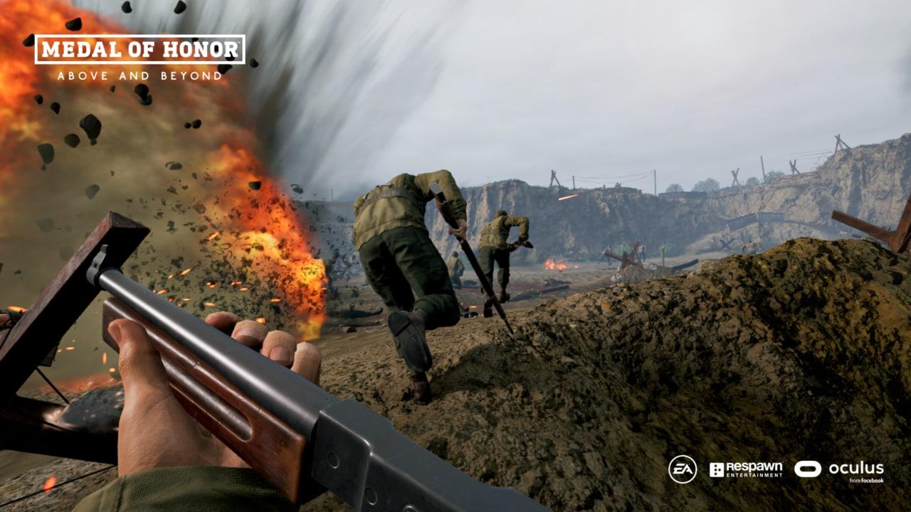 Medal of Honor: Above and Beyond, il bellico titolo VR ora disponibile su Oculus Rift e Steam (video)