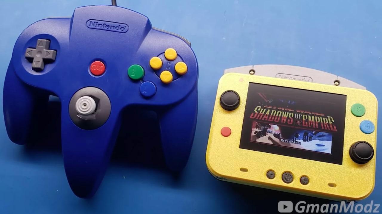 Guardate quanto è bello questo mini Nintendo 64! Vi piace? (foto e video)