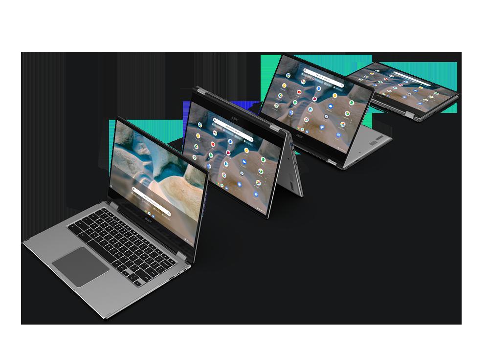 Acer presenta il primo Chromebook con AMD Ryzen e tre nuovi monitor gaming (foto)