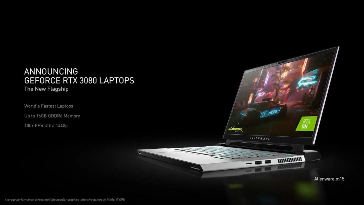 Le RTX serie 30 di NVIDIA sui laptop sono realtà: oltre 70 i modelli in arrivo sul mercato