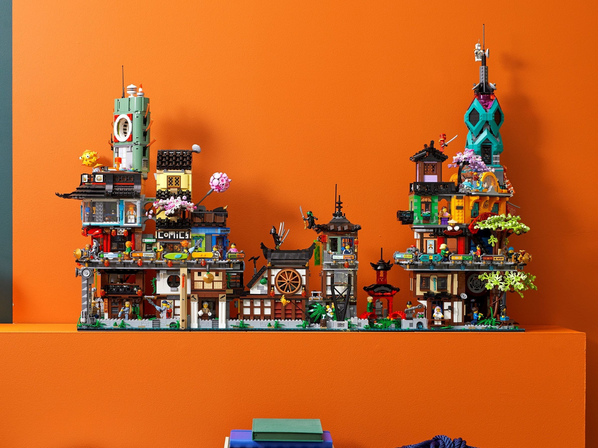 LEGO Giardini di NINJAGO City (10)