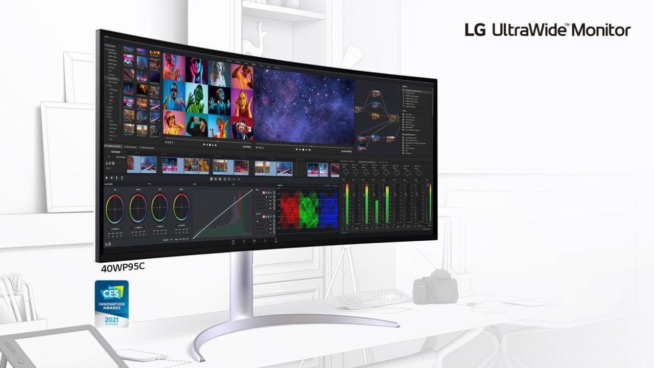 La rinnovata linea di monitor Ultra di LG fa incetta di premi al CES (foto)