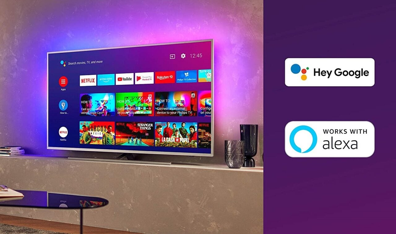 Che prezzi per i Philips Ambilight! Android TV con LED RGB integrati ai migliori prezzi su Amazon