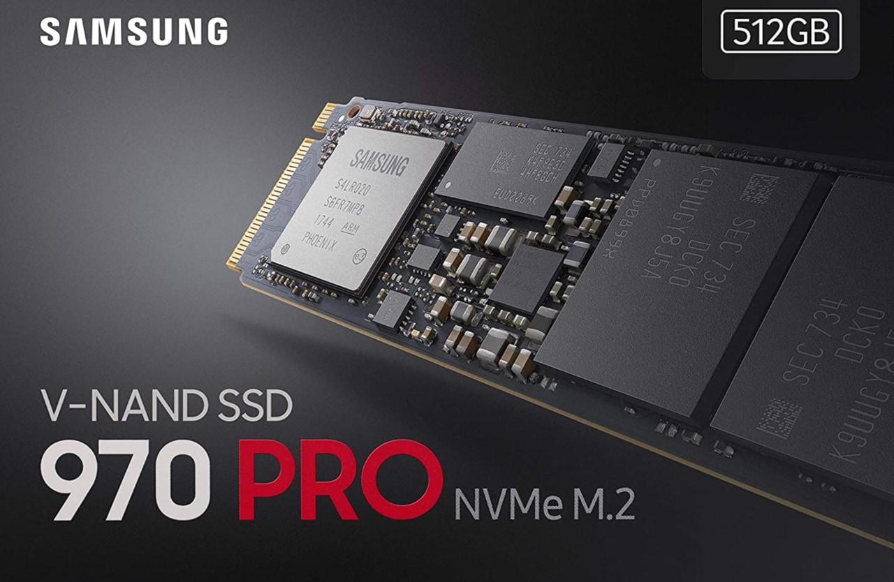 SSD Samsung 970 PRO al minimo storico su Amazon: offertona per la versione da 1 TB