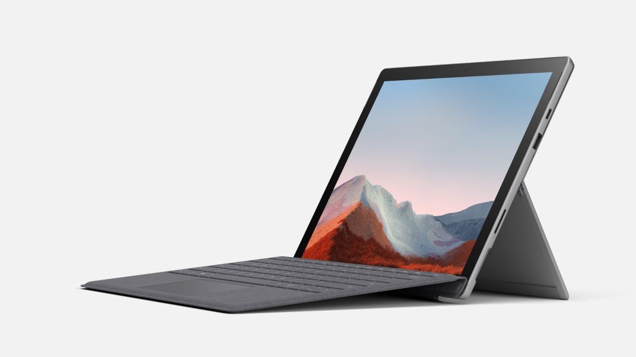 Microsoft lancia Surface Pro 7+ for Business: il boost in favore della produttività, in Italia da 1.049€ (foto)