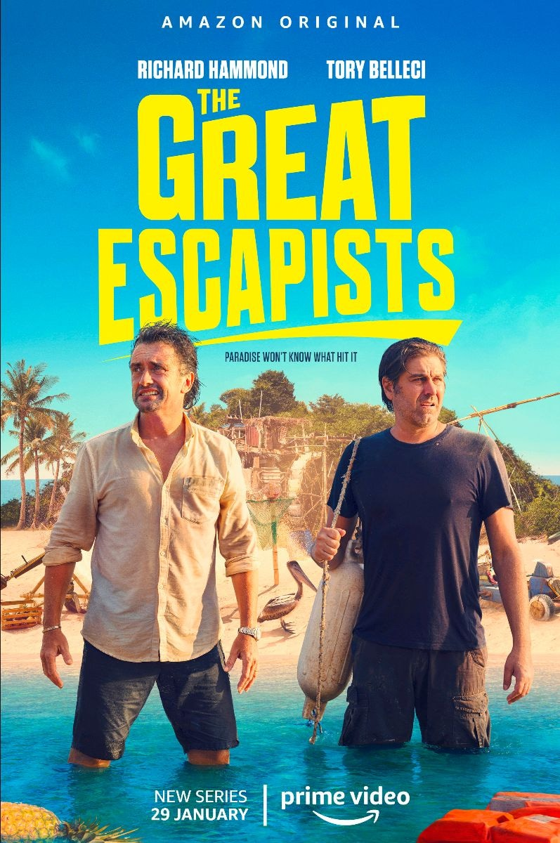 The Great Escapists: la nuova serie di Prime Video con Richard Hammond eTory Belleci (video e foto)
