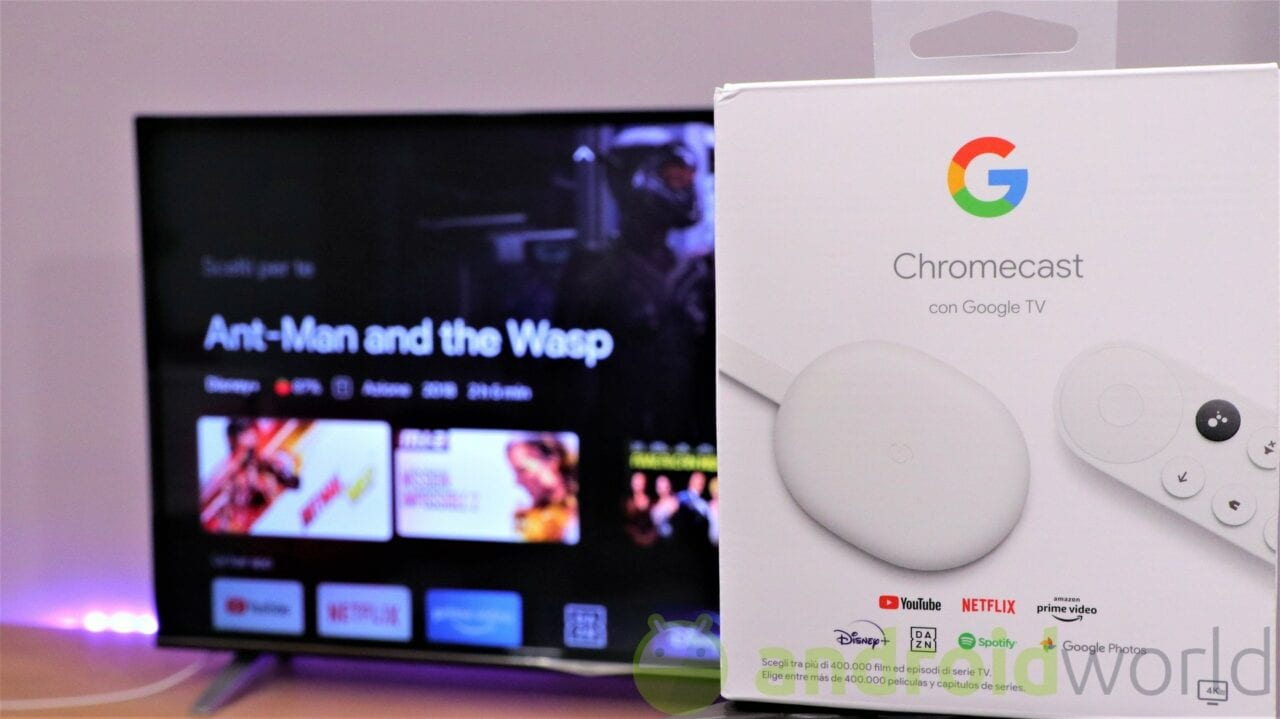 Chromecast con Google TV riceve una novità dal Pixel Launcher (foto)