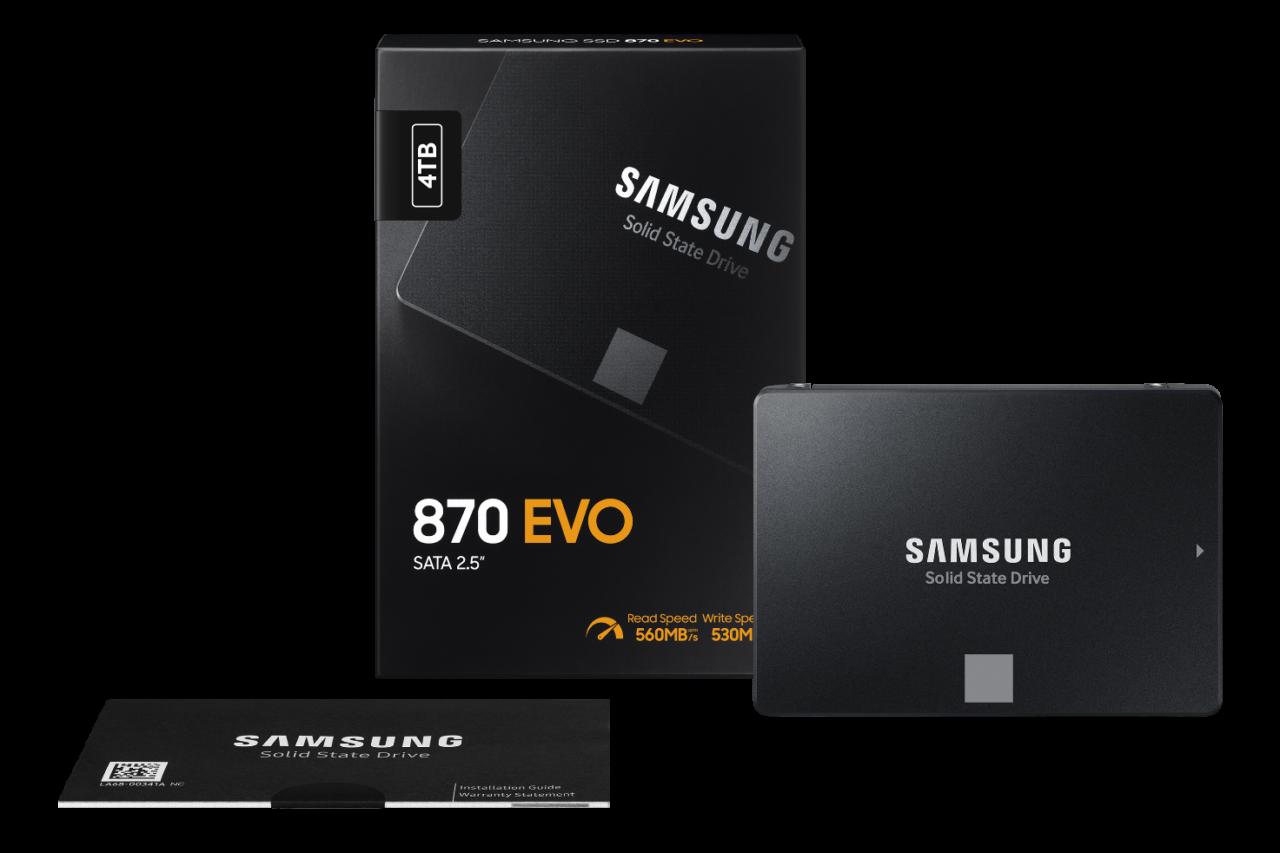 La popolare serie di SSD Samsung dà il benvenuto all'ultimo arrivato: 870 EVO, un disco a tutto tondo (foto)