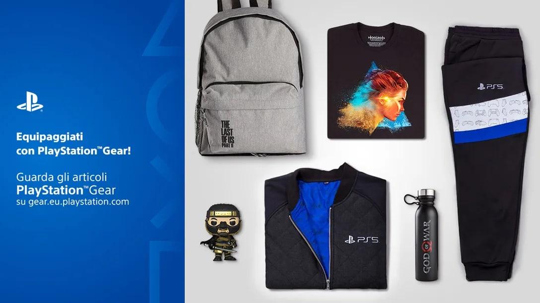 Lo Store PlayStation Gear arriva in Italia con la collezione speciale di Horizon 2! (foto)