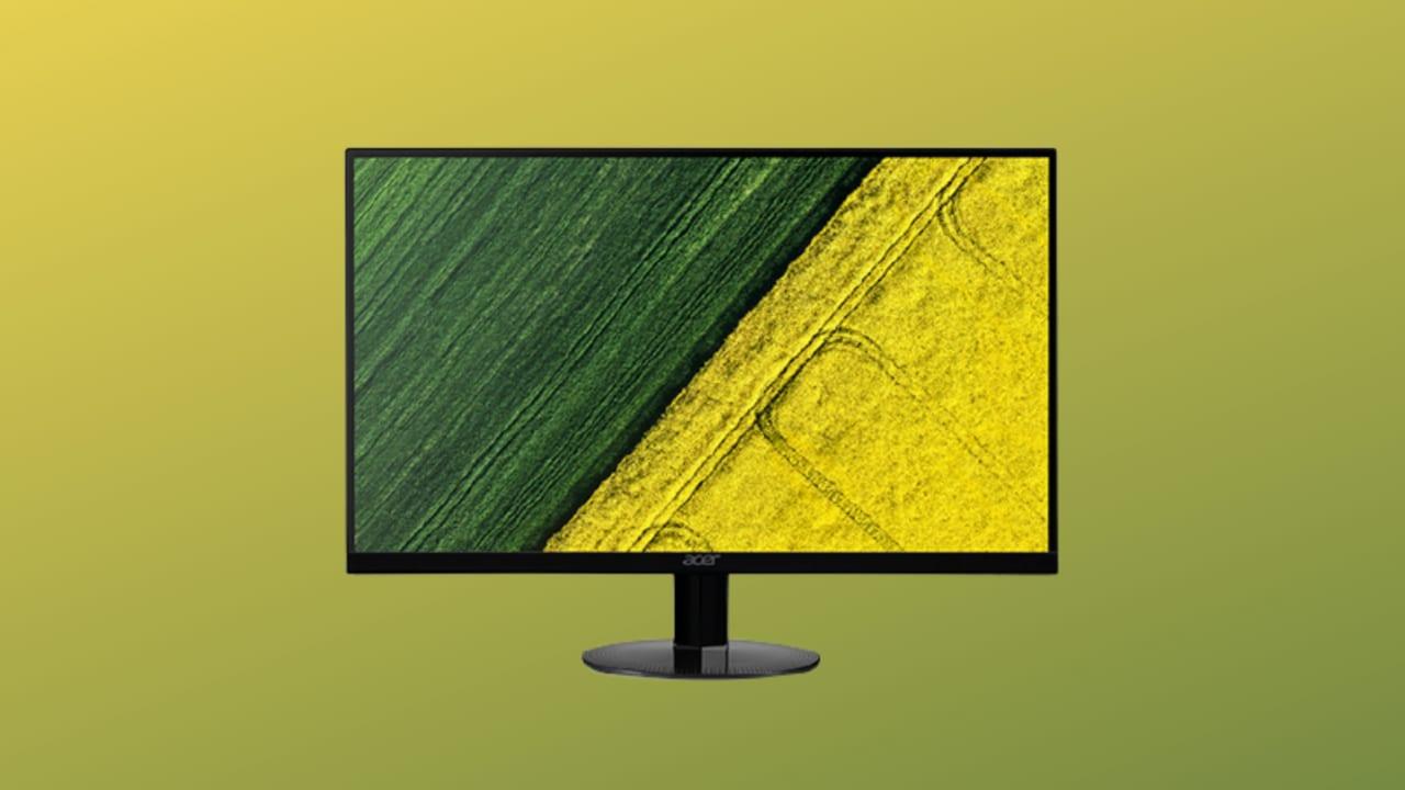 """Monitor economico in SCONTO su Amazon: Acer 24"""" a 75 Hz a soli 109€"""