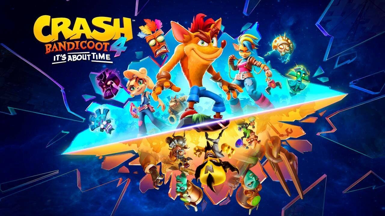 Crash Bandicoot 4: It's About Time sbarca anche su PS5, Xbox Series X e Nintendo Switch (video e foto)