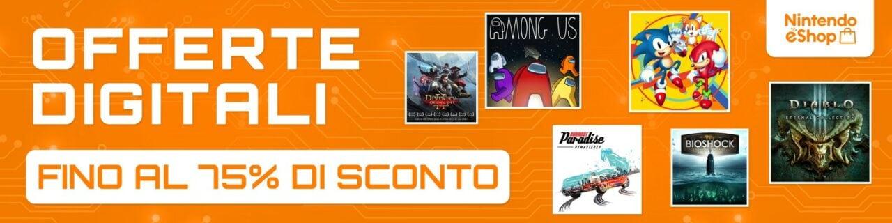 """Nintendo eShop con le sue """"OFFERTE DIGITALI"""" offre una marea di giochi in sconto"""