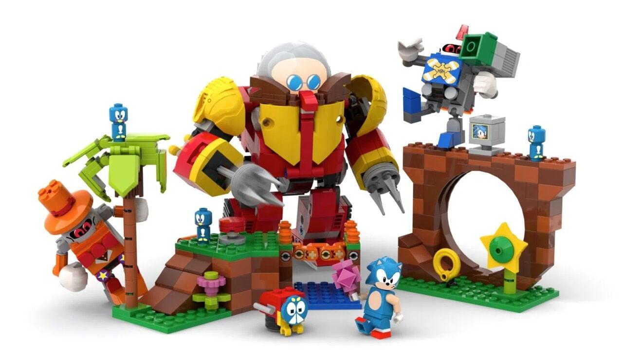 LEGO Sonic è ufficiale: nasce il set Ideas in collaborazione con SEGA