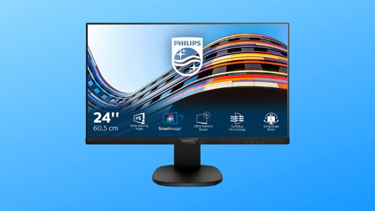 """Monitor Philips 24"""" in OFFERTA a 143€: pensa ai vostri occhi e costa poco!"""