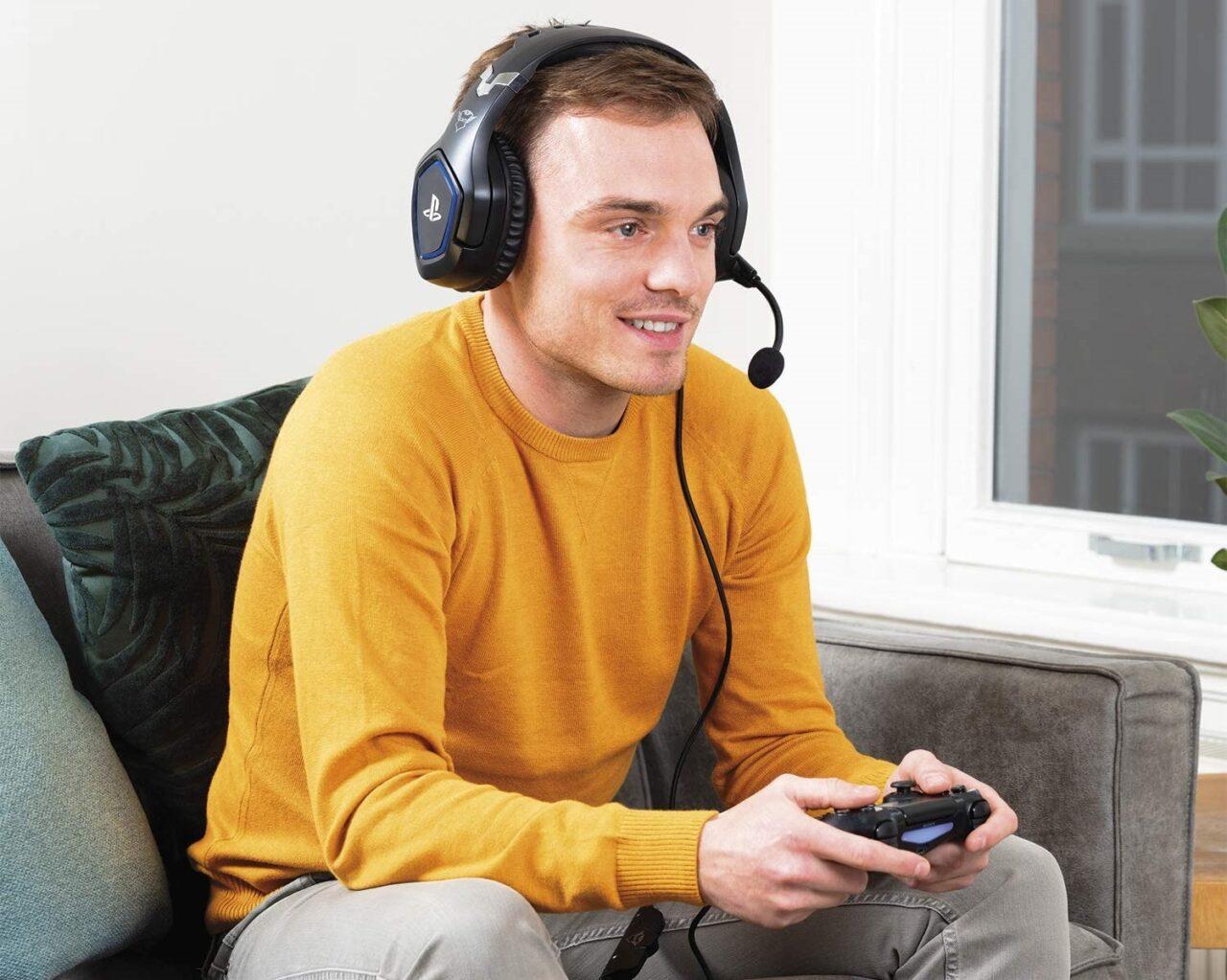Trust Gaming GXT 488 in SCONTO a 31€: cuffie per PS4 e PS5 a basso costo