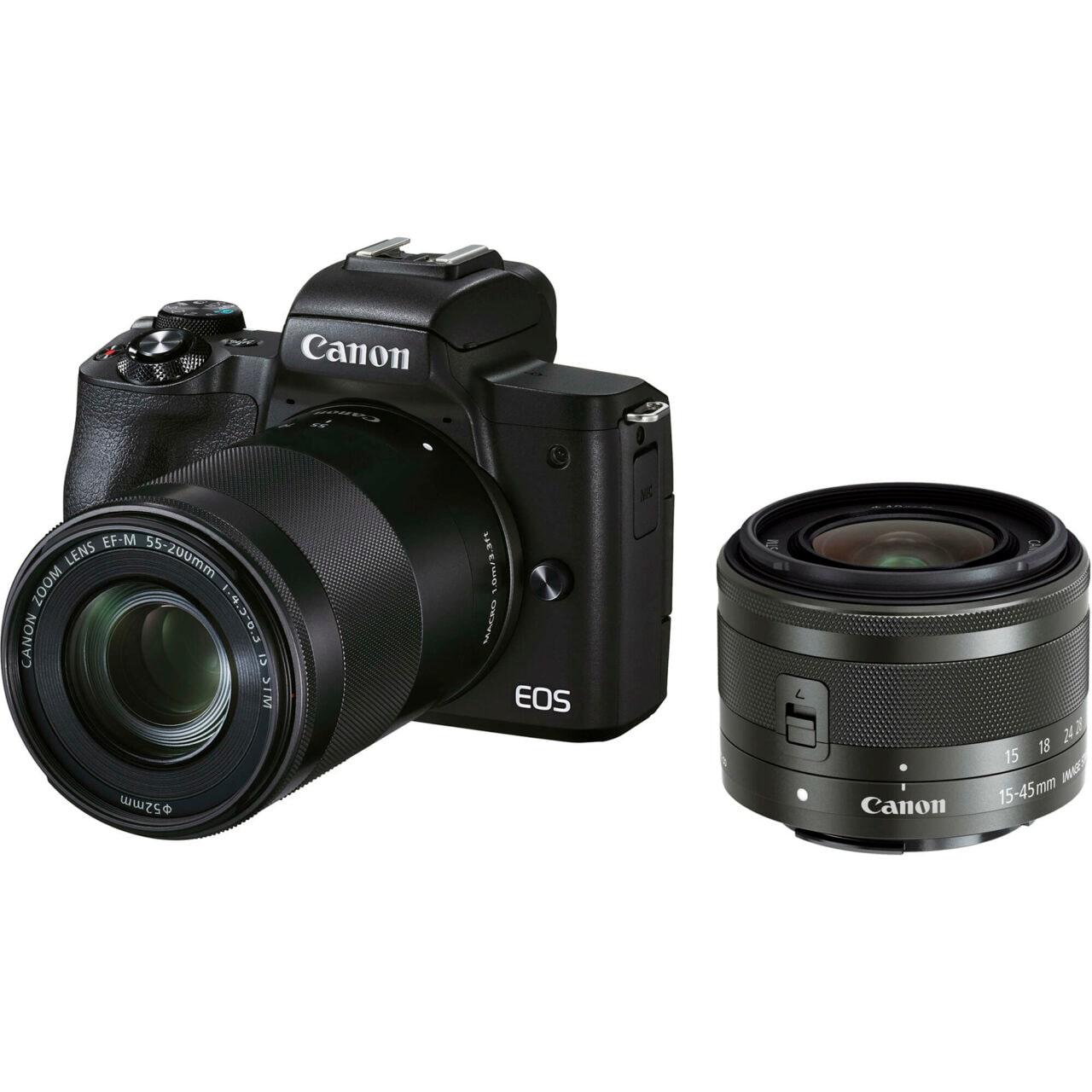 Canon presenta la EOS M50 Mark II, pensata per gli utenti più creativi e social (foto)