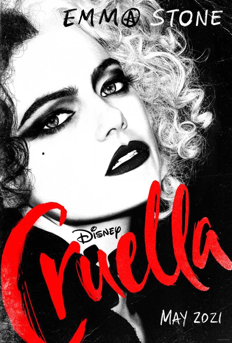 Disney mostra la giovane Crudelia nel suo nuovo teaser trailer (video)