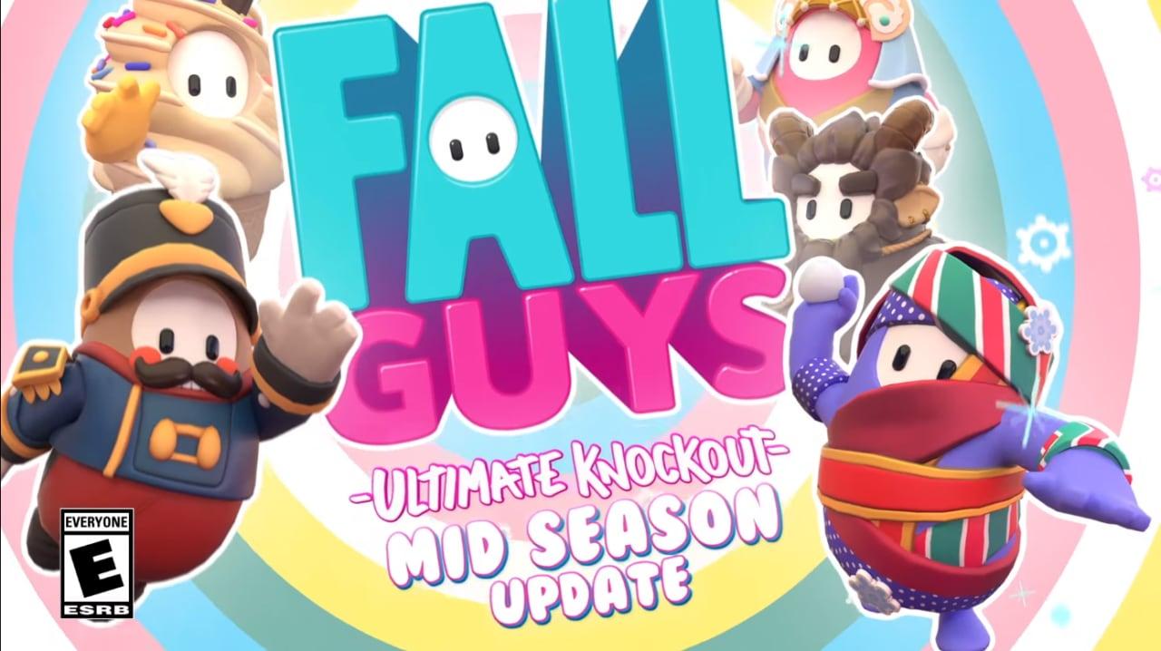 Arriva l'aggiornamento di mezza stagione per Fall Guys: sopravviverete alle palle di neve? (video e foto)