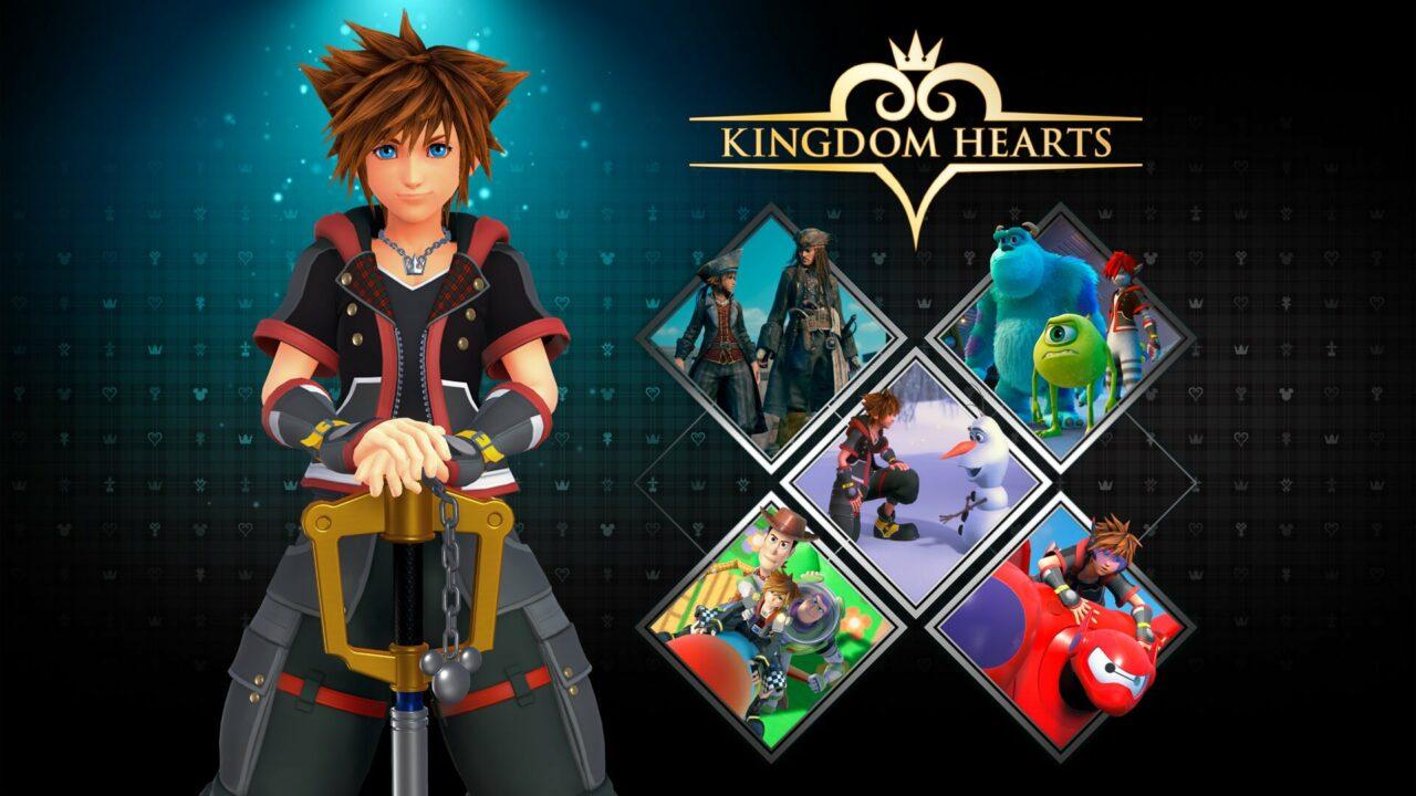 La serie KINGDOM HEARTS arriva per la prima volta su PC (video)