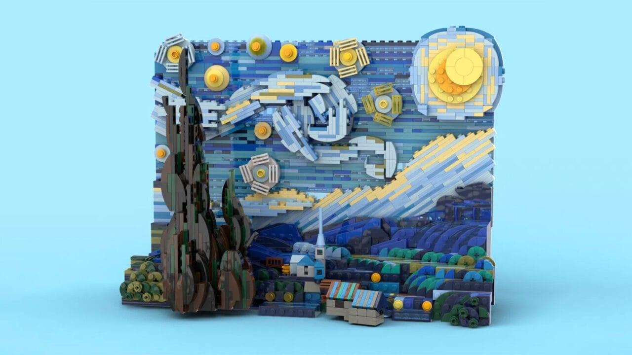 Il prossimo set LEGO Ideas è la Notte Stellata di van Gogh, ed è veramente bello (foto)