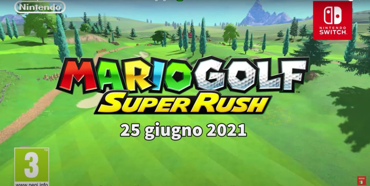 Mario Golf Super Rush è in arrivo su Nintendo Switch: debutto il 25 giugno (video)