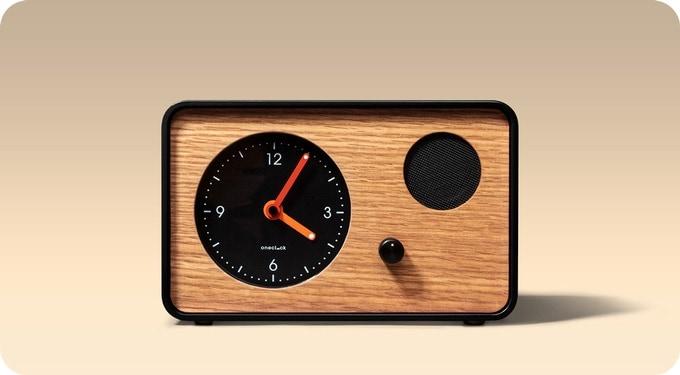 OneClock è una sveglia con design retro che non vuole essere assolutamente smart (foto)