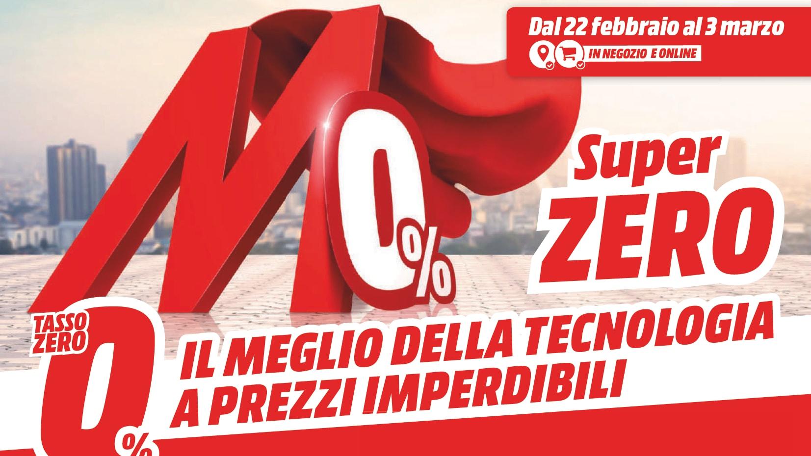 """Volantino MediaWorld """"SUPER ZERO"""" 22 …"""