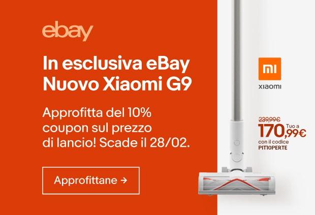 Xiaomi Mi G9 in OFFERTA esclusiva su eBay! Ecco il COUPON per averlo a soli 170€