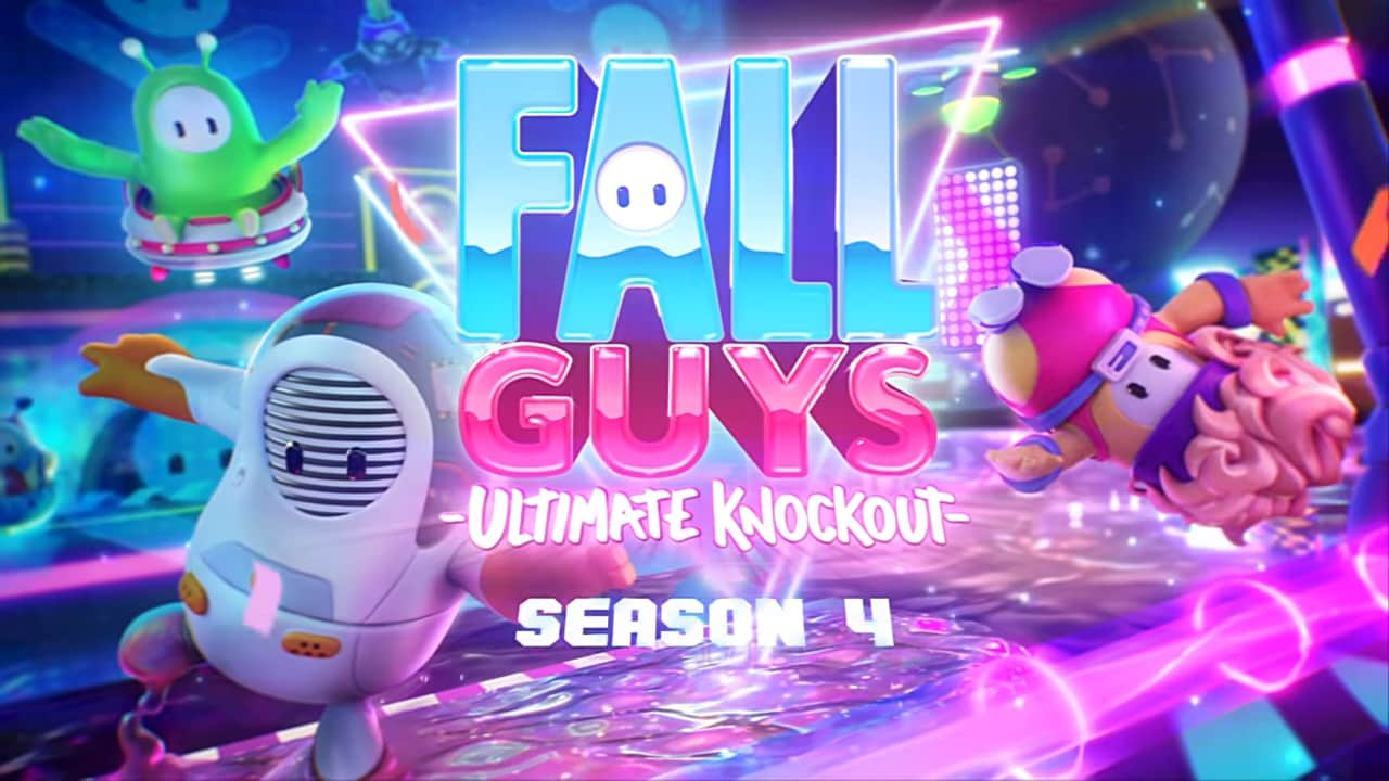 Fall Guys: Ultimate Knockout si illumina con i neon nella sua Quarta Stagione (video)