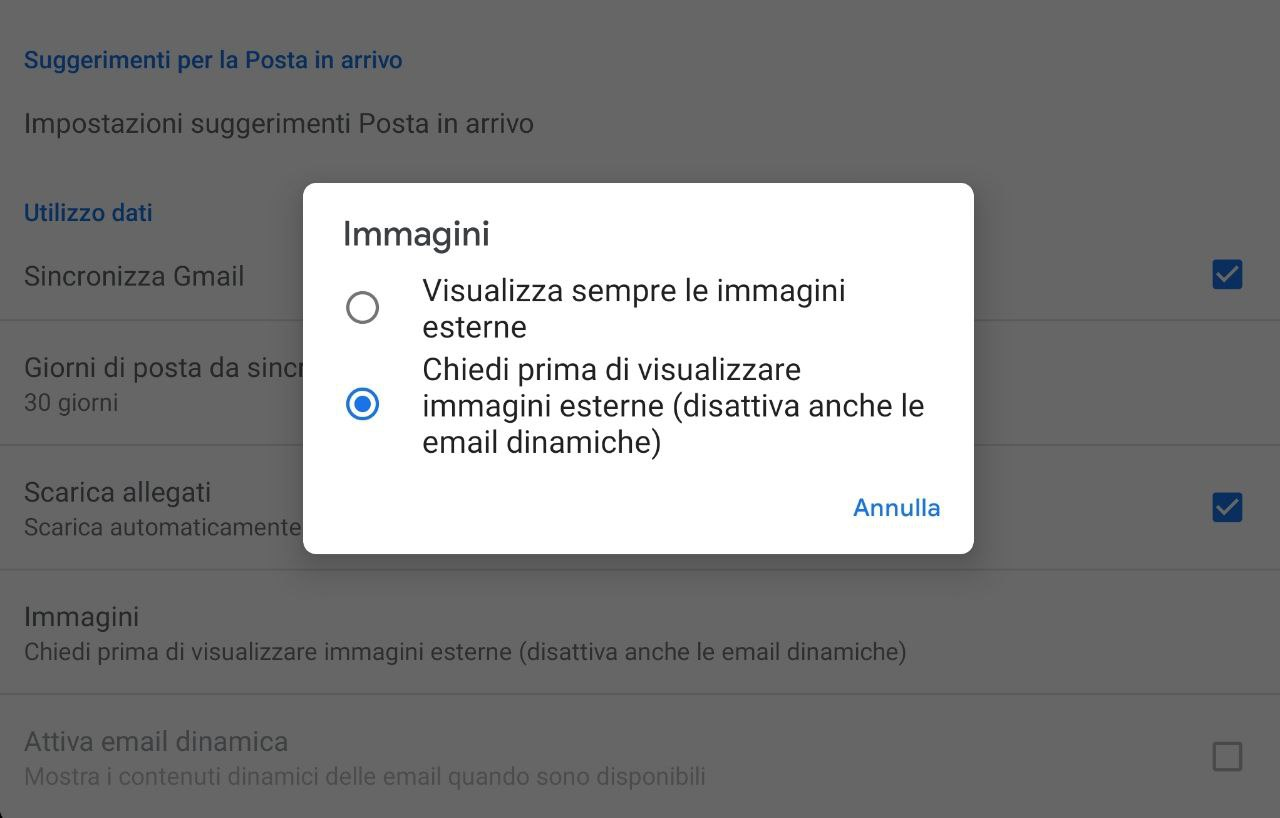 Gmail Android Stop Tracking