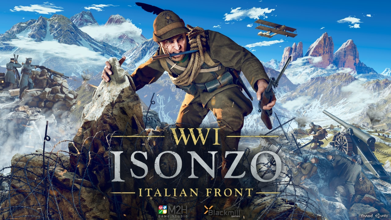 Preparatevi a vivere la battaglia alpina con Isonzo, il nuovo capitolo di WW1 in arrivo su console e PC (video e foto)