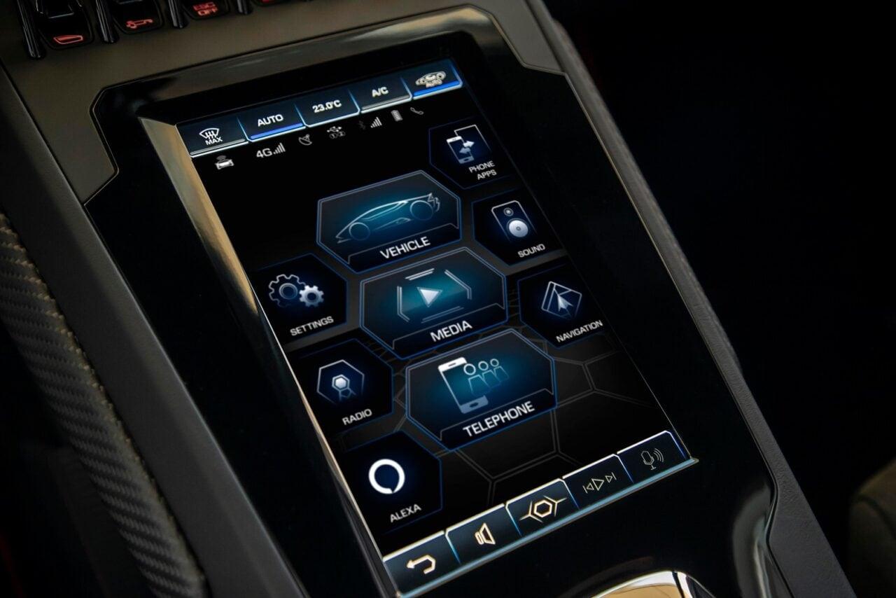 Le auto Lamborghini sono le prime ad accogliere il supporto ad Alexa a bordo!