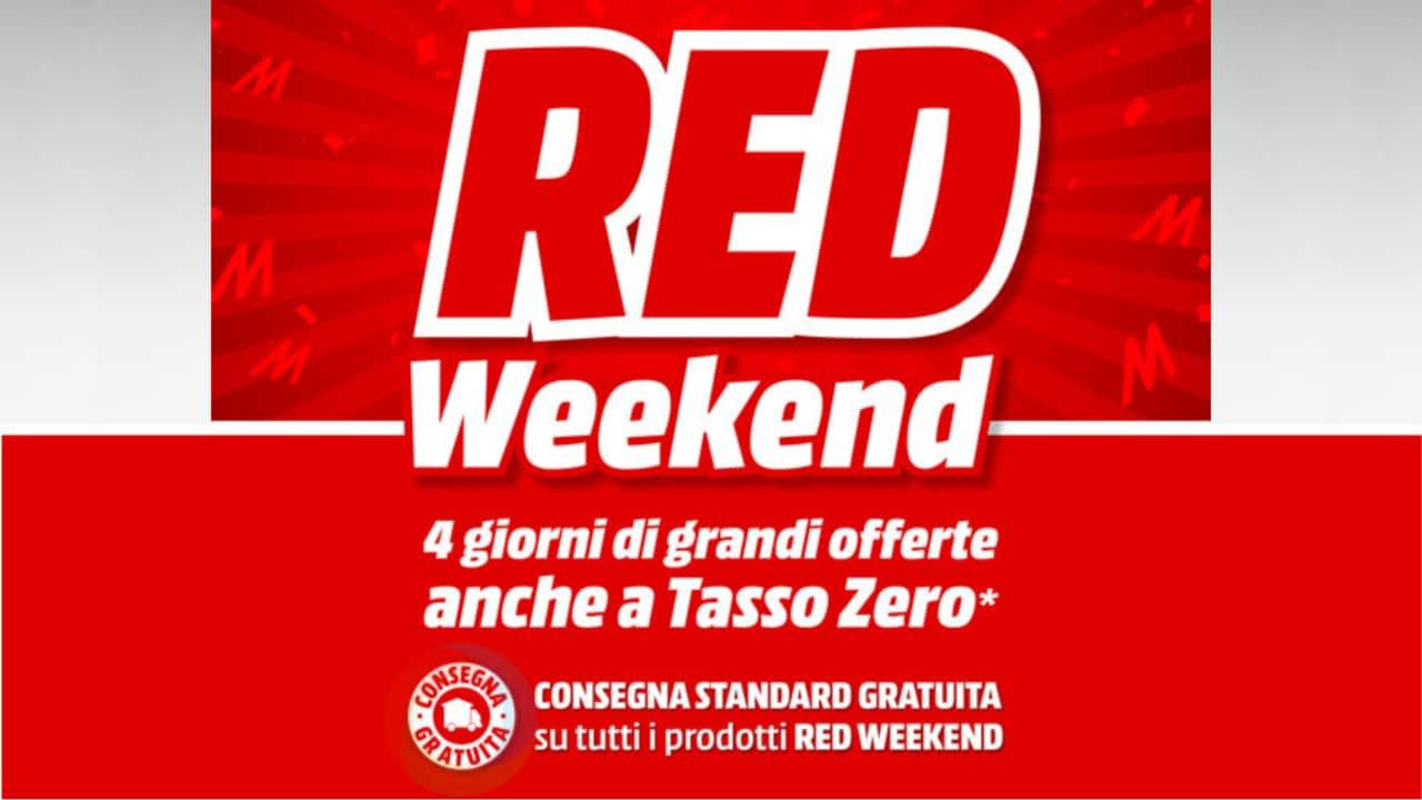 """Offerte MediaWorld """"RED Weekend"""" fino al 3 ottobre: di tutto e di più in sconto!"""